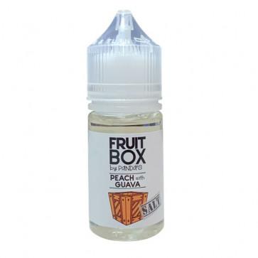 Fruitbox SALT Peach with Guava - купить солевую жидкость для вейп | 30 мл