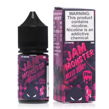 Jam Monster Salt Mixed Berry