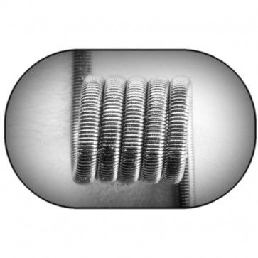 Jewelry Coil Fused Clapton Coil (NiCr) MTL