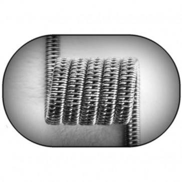 Jewelry Coil Staggered Clapton Coil (Ka,NiCr) MTL