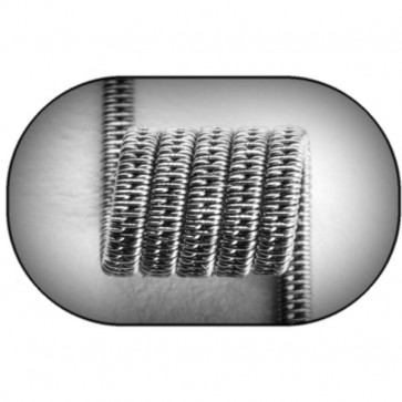 Jewelry Coil Staggered Clapton Coil  (NiCr) MTL