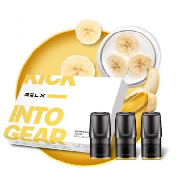 RELX Картридж Mellow Yellow / Banana Smoothie 3%