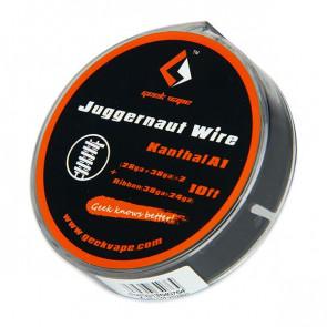 GeekVape Kanthal A1 Juggernaut (28GA+38GA) x2 + Ribbon (38GAx24GA)