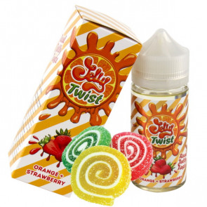 Jelly Twist Orange + Strawberry