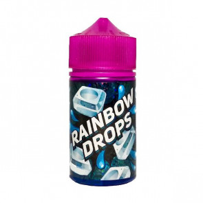 Rainbow Drops Black