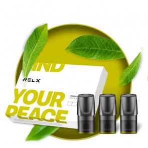 RELX Картридж Green Tea 3%