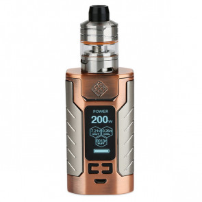 WISMEC SINUOUS FJ200 with Divider TC Kit