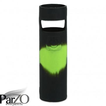Силиконовый чехол для AIO D22 (черно-зеленый)