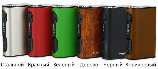 Цвета Eleaf iStick QC 200W