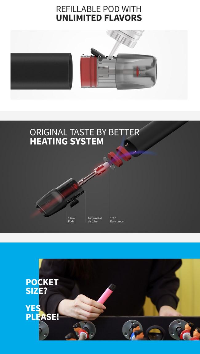 Elf Bar RF350 Refillable Pod Starter Kit