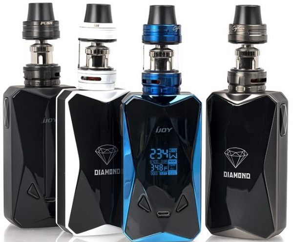 IJOY Diamond PD270 with Captain X3S