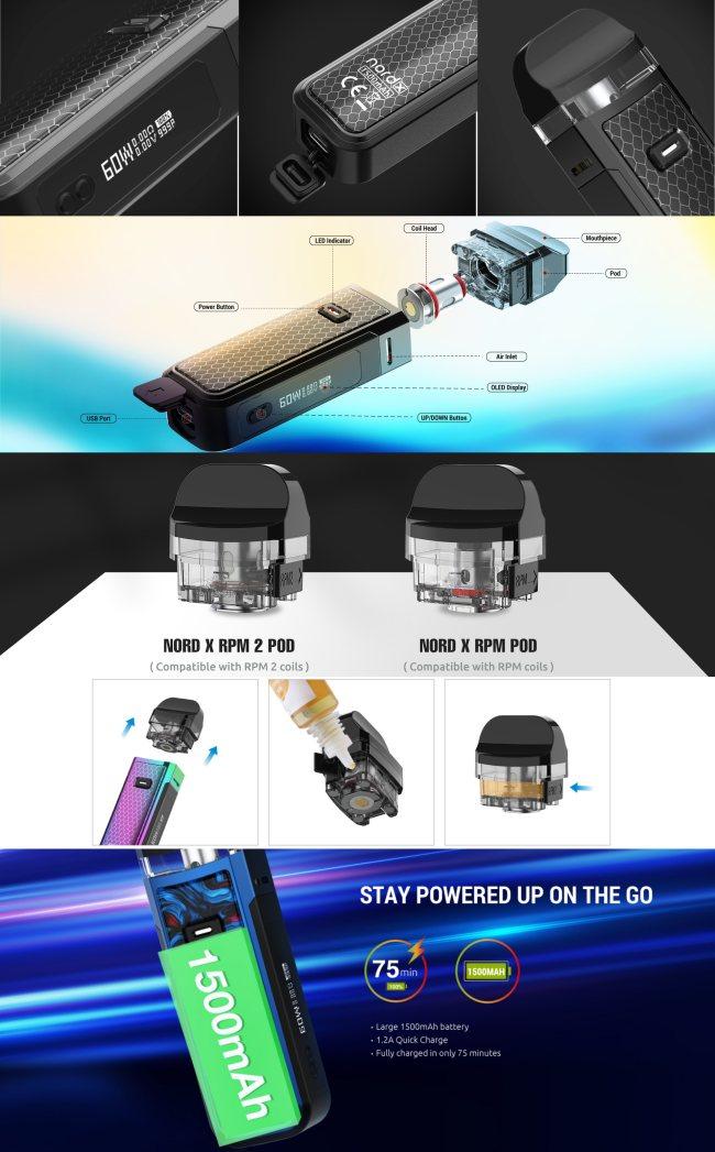 SMOK Nord X Pod Starter Kit