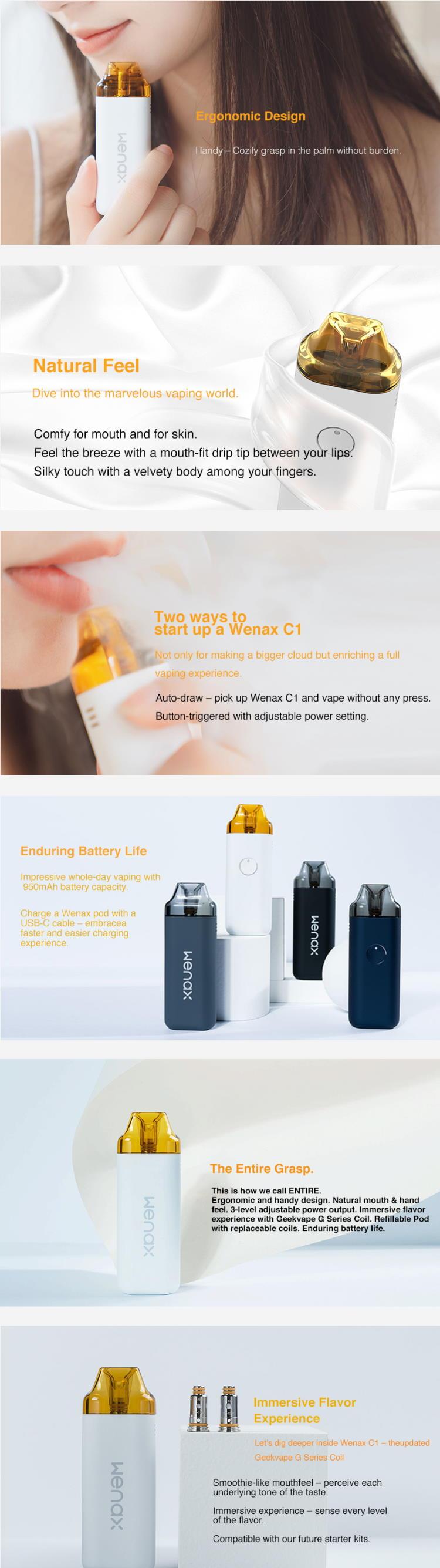 GeekVape Wenax C1 Pod Kit