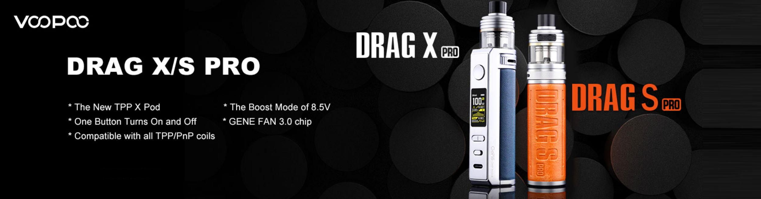 VOOPOO Drag X / S Pro Pod Kit