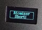 Atomizer short